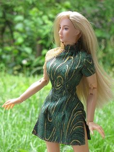 free fashion doll sewing pattern...  click on pattern pic in photostream to the right