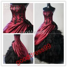 Wholesale 2013 New Prom Dresses Ball Gown Strapless Floor length Taffeta Applique Quinceanera Dresses, Free shipping, $147.84-176.96/Piece | DHgate