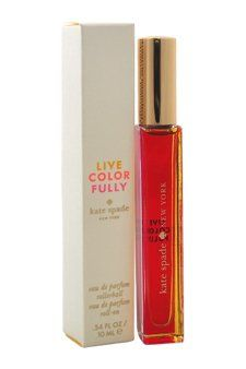 Kate Spade EDP Rollerball Live Colorfully 034 Ounce >>> You can find out more details at the link of the image.