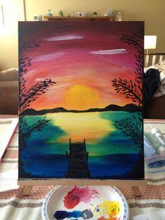 Seascape Paintings, Simple, Art, Craft Art, Painting, Kunst, Gcse Art, Draw, Portrait