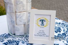 Wedding ideas.  Tissues for guests.  Raleigh wedding photography.  Neil Boyd Photography.  Guest favors.  DYI Wedding ideas.