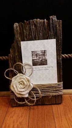 Old Barn Wood Picture Frame. Rustic Home Decor. Wedding Decor