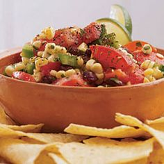 This zesty Mexican salad makes great picnic fare. #recipes #outdoors