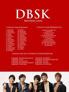 DBSK Birthday Game-- Yunho hugged me because he couldn't resist me!