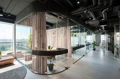 Hier könnte man Wohnen: Das junge, aufstrebende Architekturbüro Autori hat in Belgrad ein Büro gestaltet, dessen Innenarchitektur multitaskingfähig ist. Mehr: