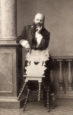 André-Adolphe-Eugène Disdéri · Autoritratto · 1860