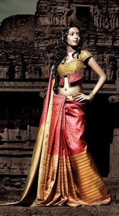 IT'S PG'LICIOUS SILK SAREE INDIAN FASHION NALLI SAREE