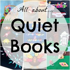 All About Quiet Books on So Sew Easy at http://so-sew-easy.com/quiet-book/