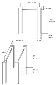 Homemade Parallel Bars and Pull up Bar - All Things Gym