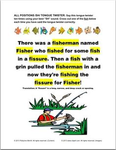 An SH- tongue twister found in the Tongue Twisters for the SH, CH, TH and L- Sounds workbook from Teach Speech Now. Free Activities For Kids, Speech Activities, Language Activities, Funny Tongue Twisters, Tongue Twisters For Kids, Speech Language Pathology, Speech And Language, Sh Sound, Articulation Therapy
