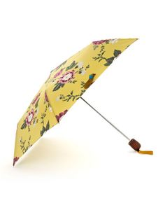 BROLLY | Accessories | Women | Joules UK Beautiful floral umbrella to cheer up a rainy day, and it's my perfect colour - mustard. Love mustard accessories. On my Christmas list! #jouleswishlist