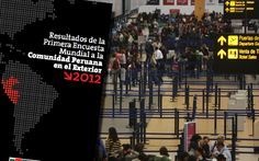¿En qué trabajan y cuánto ganan los peruanos en el extranjero