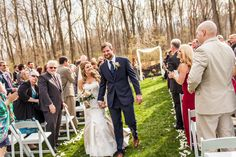 The begining of Spring in the Glen; the begining of a new life for Lexi & Steve.    Photo Credit: Jensen Photography #brandywinemanorhouse