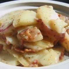 Cooking Pinterest: Hot German Potato Salad Recipe