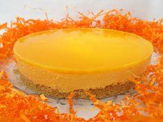 Simplemente deliciosa - Receta Postre : Cheesecake de mango sin horno (con y sin thermomix) por Vegarabia