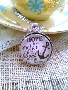 Hope is an Anchor for the Soul Hebrews by SweetBirdieBlessings
