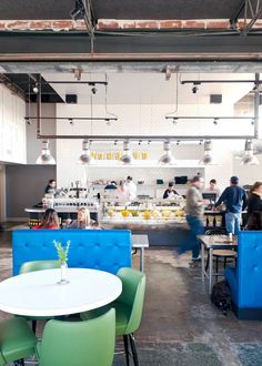 Local Foods, a fast-casual, walk-up counter concept, features locally-sourced items next door to Benjy's in the Village.