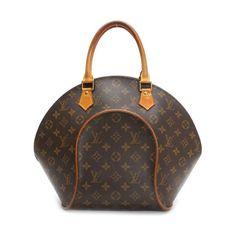 Louis Vuitton Ellipse MM Monogram Handle bags Brown Canvas M51126