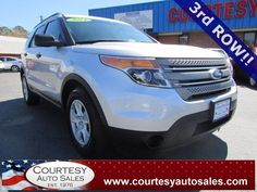 2014 FORD EXPLORER -- With ONLY 39,831 MILES!...In PLATINUM-SILVER! -- 3rd ROW! -- INCLUDES REMAINDER Of Factory Drive-Train WARRANTY! -- CALL TODAY! * 757-424-6404 * FINANCING AVAILABLE! -- Courtesy Auto Sales SPECIALIZES In Providing You With The BEST PRICE On A USED CAR, TRUCK or SUV! -- Get APPROVED TODAY @ courtesyautosales.com * Proudly Serving Your USED CAR NEEDS In Chesapeake, Virginia Beach, Norfolk, Portsmouth, Suffolk, Hampton Roads, Richmond, And ALL Of Virginia SINCE 1976!