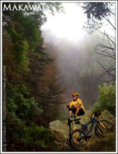 Mountain Biking Makawao, Maui