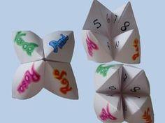 Paso a paso para hacer un comecocos o comepiojos de papel. #manualidaes #comecocos #origami #niños #papel http://abt.cm/1O3blpt