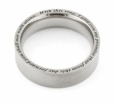 Engraving around the rim- www.stonechatjewellers.ie