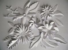 I miei lavori: fiori :: bianchepieghe.it