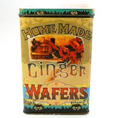 Vintage biscuits tin