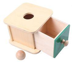 Montessori Kids Toy Baby Wood Ball Matching Box Learning Educational Preschool Training Brinquedos Juguets