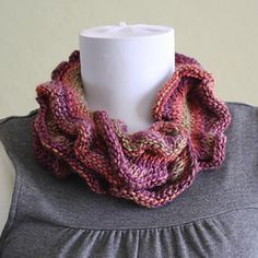 Universal Yarn DanDoh Scarf 2 - Knitted Hug for Japan (Free) in Scarves/Cowls at Webs