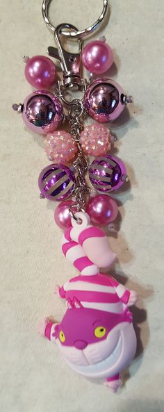 Cheshire Cat Purse Charm   available at www.facebook.com/magic365