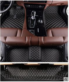 Best quality! Custom special floor mats for Mercedes Benz GL 350 400 450 500 X164 7seats 2012-2006 durable carpets,Free shipping