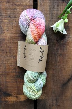 """""""Lichen and Lace Wildflower"""" by Never Not Knitting"""
