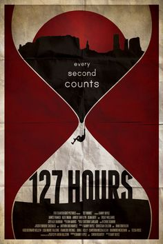 FILM POSTER RE-IMAGINED - 127. hours by Ryan Black