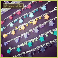 Shining #stars! #Polymer #Clay #Bracelets #Fimo