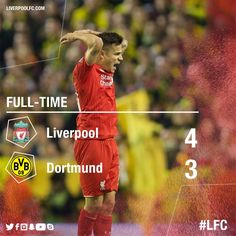 "Liverpool FC on Twitter: ""FULL-TIME: Speechless. #LFC"
