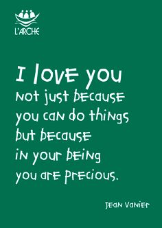 ...in your being you are precious !