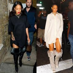 #Rihanna sporting unreleased #RihannaXManolo. Thoughts on the new pairs she's worn so far?