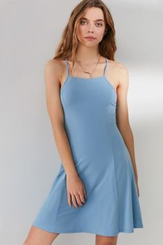 Shop UO Jeanne Lace-Up Back Mini Dress at Urban Outfitters today. We carry all the latest styles, colors and brands for you to choose from right here. Casual Dresses, Prom Dresses, New Wardrobe, Wardrobe Ideas, Urban Dresses, Urban Outfitters, Fitness Models, Lace Up, Mini