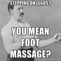 foot massage...