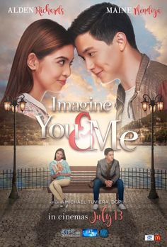 Imagine you and me film. Imagine you and me stars alden richards and maine mendoza secretly visited. Romantic comedy film directed by mike tuviera, which. Streaming Movies, Hd Movies, Movies And Tv Shows, Pinoy Movies, Maine Mendoza, Alden Richards, Film 2017, Be With You Movie, Movies To Watch Online