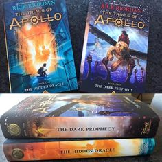 The Dark Prophecy | ToA | Trials of Apollo Book Two US cover released | Rick: My new OTP. Don't they look perfect together?