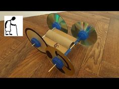 """riley elwood suggested """"you should make a rubber band powered car from a toilet paper role and make the wheels cds"""". I have made several cars with cardboard . Fun Activities For Preschoolers, Preschool Activities, Paper Crafts For Kids, Preschool Crafts, Rubber Band Car, Rolling Car, Engineering Programs, Resource Room, Power Cars"""