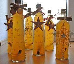 Apfel - Zimt - Likör, ein schönes Rezept mit Bild aus der Kategorie Likör. 63 Bewertungen: Ø 4,4. Tags: Getränk, Likör, Weihnachten, Winter