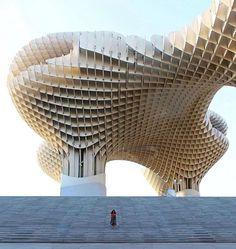 Metropol Parasol by Jürgen Mayer Architecture 📍 Sevilla, Spain 📸 via : Architecture Arc, Site Analysis Architecture, Conceptual Architecture, Futuristic Architecture, Amazing Architecture, Parametric Architecture, Parametric Design, Palaces, Dubai