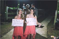 Damas lindas! Casamento Brazilian Country Wedding