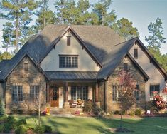 Exterior Stone And Brick Houses Design, Pictures, Remodel, Decor and Ideas - page 31