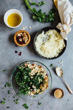gluten free cauliflower tabbouleh recipe