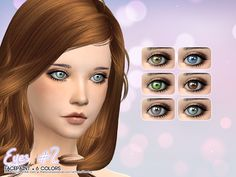 sims 4 custom content | Eyes / Sims 4 Custom Content