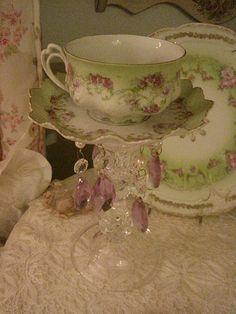 Austrain Tea Cup Candle light